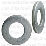 "9/16"" SAE Flat Washer Zinc Finish 1-3/16"" O.D."