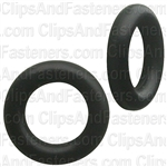 "7/32"" I.D. 11/32"" O.D. 1/16"" Thick BUNA-N Rubber O-Rings"