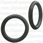 "3/8"" I.D. 1/2"" O.D. 1/16"" Thick BUNA-N Rubber O-Rings"