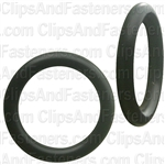 "9/16"" I.D. 3/4"" O.D. 3/32"" Thick BUNA-N Rubber O-Rings"