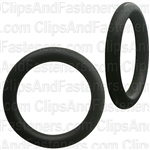 "3/4"" I.D. 1"" O.D. 1/8"" Thick BUNA-N Rubber O-Rings"