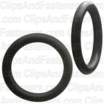 "13/16"" I.D. 1-1/16"" O.D. 1/8"" Thick BUNA-N Rubber O-Rings"