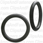 "7/8"" I.D. 1-1/8"" O.D. 1/8"" Thick BUNA-N Rubber O-Rings"