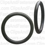 "1-1/16"" I.D. 1-5/16"" O.D. 1/8"" Thick BUNA-N Rubber O-Rings"