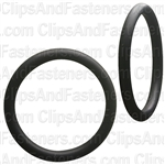 "1-1/8"" I.D. 1-3/8"" O.D. 1/8"" Thick BUNA-N Rubber O-Rings"