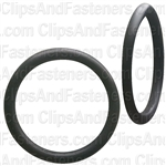 "1-3/16"" I.D. 1-7/16"" O.D. 1/8"" Thick BUNA-N Rubber O-Rings"