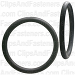 "1-1/4"" I.D. 1-1/2"" O.D. 1/8"" Thick BUNA-N Rubber O-Rings"