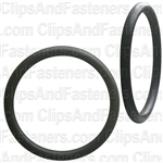 "1-3/8"" I.D. 1-5/8"" O.D. 1/8"" Thick BUNA-N Rubber O-Rings"