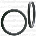 "1-3/4"" I.D. 2-1/8"" O.D. 13/64"" Thick BUNA-N Rubber O-Rings"