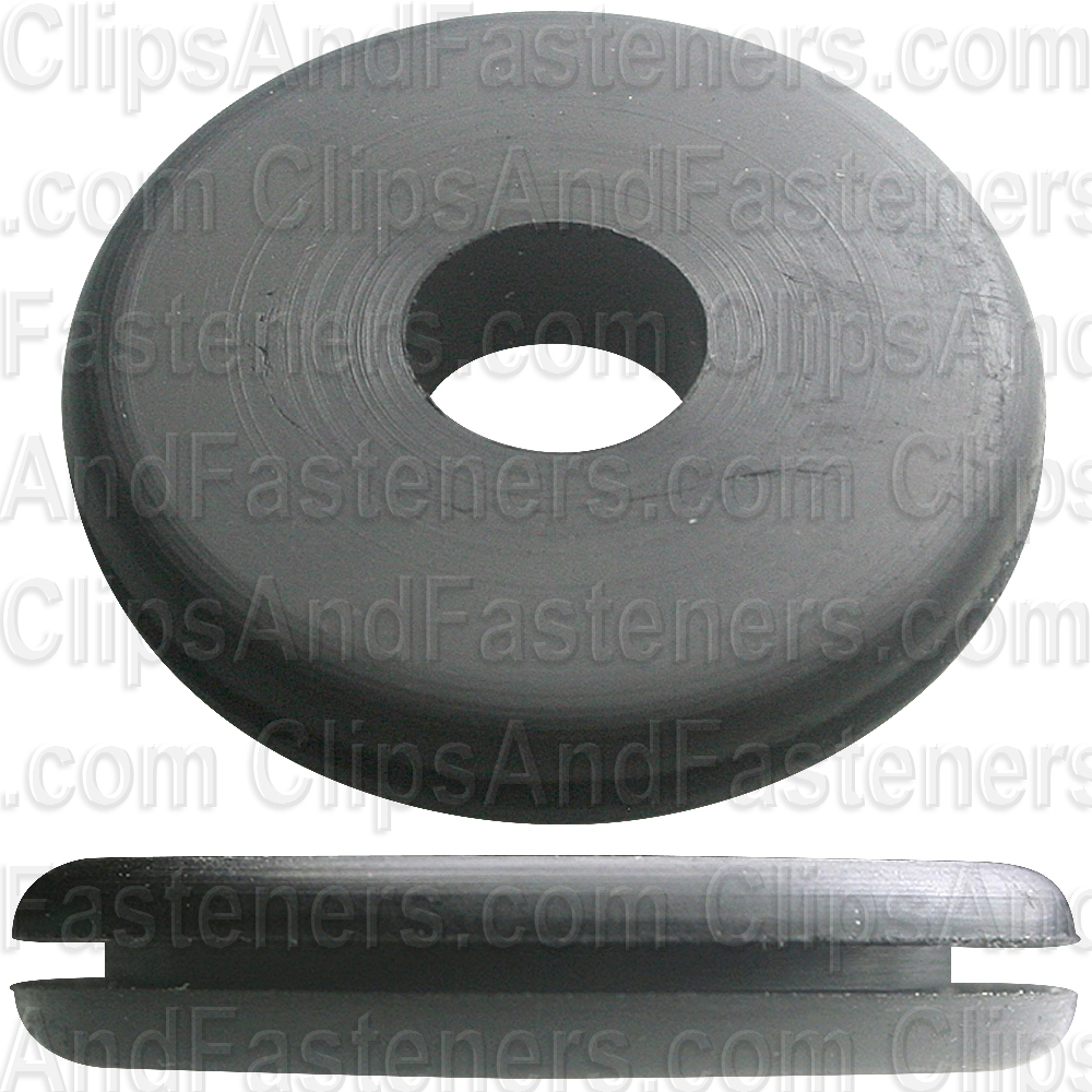 "Clipsandfasteners Inc 25 Rubber Grommets 3//8/"" Bore Diameter 1-1//4/"" O.D."