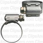 #10 Partial Stainless Steel Hose Clamp