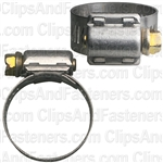 #12 Partial Stainless Steel Hose Clamp