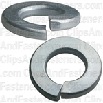 "1/4"" Grade 5 Spring Type Lock Washer Zinc"
