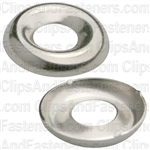 #10 Ctsk Brass Finishing Washer Nickel