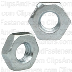 10-32 Hex Machine Screw Nut Zinc