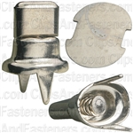 No. 40 Nickel On Brass Fastener