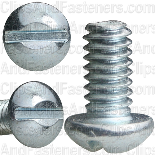 Slotted Round Head Machine Screw