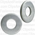 "1/4"" USS Washer Zinc Finish 3/4"" O.D."