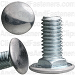 7/16 -14 X 1 Truss Hd.Bumper Bolt Zinc