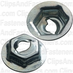 Thread Cutting Nut 5/32 Stud Size