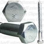 3/8 X 4 Hex Hd Lag Screw Zinc
