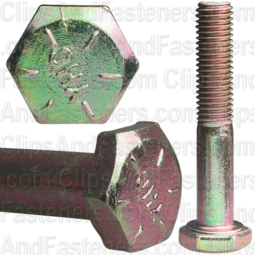 1/4-28 X 1 1/2 Gr 8 Cap Screw Alloy Zinc