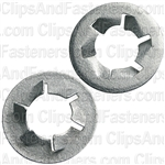 "1/2"" Pushnut Bolt Retainer 15/16"" O.D. Zinc"