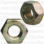 1/4-28 Gr. 8 Hex Nut Zinc High Alloy