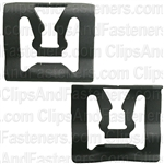 Window Reveal Moulding Clip (Phos & Blk)