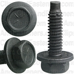 "1/4""-20 X 1"" Hex Head Sems With Dog Point Phosphate"