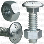 1/4 X 1 Carriage Bolt Zinc