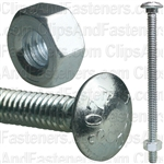 1/4 X 4 Carriage Bolt Zinc