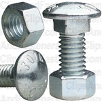 3/8 X 1 Carriage Bolt Zinc