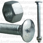 1/2 X 6 Carriage Bolt Zinc