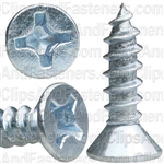 10 X 3/4 Phil Flat Hd Wood Screw Zinc