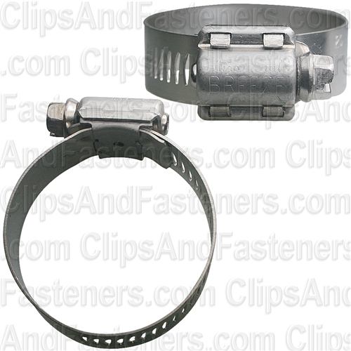 #20 Hose Clamps All Stainless Steel