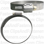 #52 Partial Stainless Steel Hose Clamp
