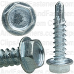 #8 X 3/4 Hex Washer Head Teks T.S. Zinc