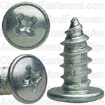 "8-18 X 3/8"" Phillips Round Washer Tap Screw"