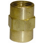 "5 1/8"" Pipe Thread Coupling Brass Fitting"