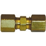 "1 3/16"" Solderless Compression Union Brass Fitting"