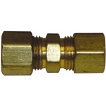 "1 5/16"" Solderless Compression Union Brass Fitting"