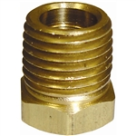 "5 1/4"" x 1/8"" Pipe Thread Bushing Brass Fitting"