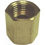 "1 3/8"" Inverted Tube Union Brass Fitting"