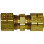 "1 3/8"" Solderless Compression Union Brass Fitting"