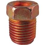 "5 Oversized Steel Tube Nut 3/16"" x 7/16"" x 24 TPI Red"