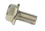 M 5 - 1.0 x 10mm A2-70 Stainless Hex Flange Bolts