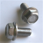 M 6 - 1.0 x 12mm A2-70 Stainless Hex Flange Bolts
