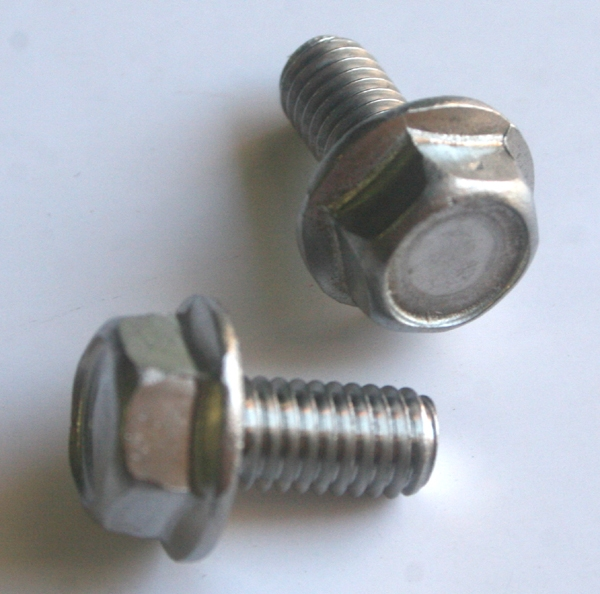 M 6 - 1 0 x 12mm A2-70 Stainless Hex Flange Bolts