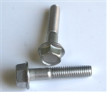 M 6 - 1.0 x 30mm A2-70 Stainless Hex Flange Bolts